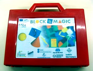 BlockMagic suitcase first prototype